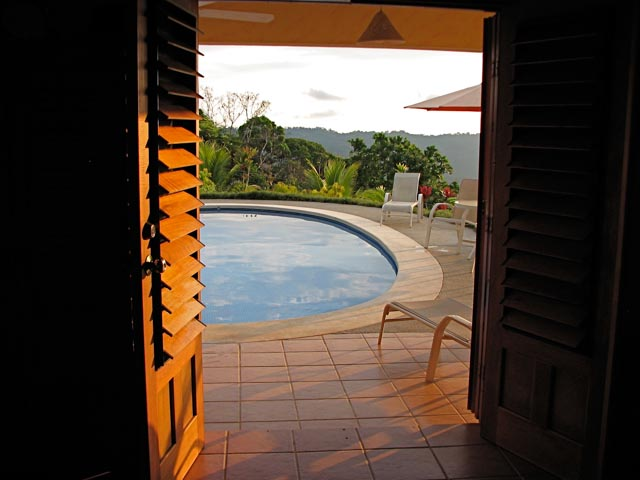 14. Finca Francesa Pool from Guest House