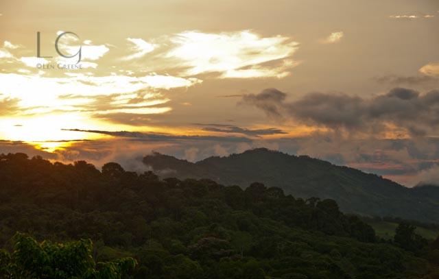 Finca Verde Sunset-